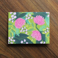 Saigon Blooms Greeting Card