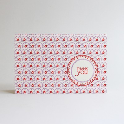 Apsley Letterpress Thank You Card