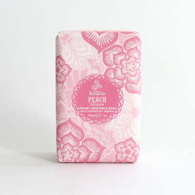 Sweet Treats Peach Blossom Creamy Vegetable Soap 200g