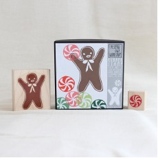Gingerbread Man Stamp Set