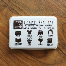Stamp Ink Pad - Brown