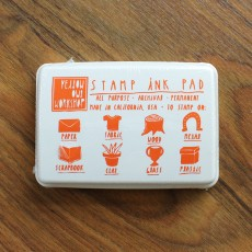 Stamp Ink Pad - Orange