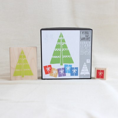 Christmas Tree Stamp Set
